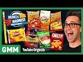 Munch Madness Taste Test  Meaty   Cheesy Snacks Ft  Harley Morenstein