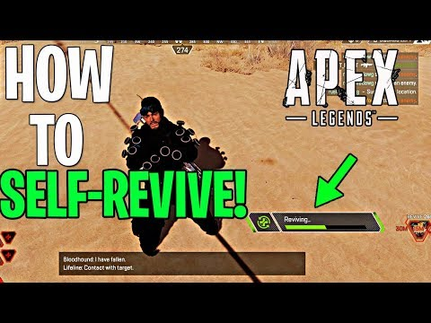 How To Self-Revive In Apex Legends!