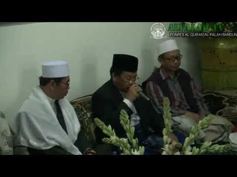 MENGENANG 100 HARI AYAH !! H MUAMMAR ZA - Bikin semua jama'ah Menangis di Makam KH Ahmad syahid