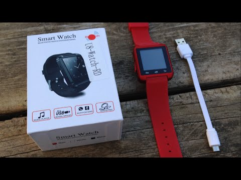 $10 SMARTWATCH? - U8 Smartwatch Unboxing and Review!