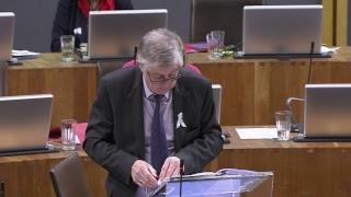 Cyfarfod Llawn Cynulliad Cenedlaethol Cymru 20.11.18