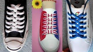 Креативные способы завязать шнурки. Как завязать шнурки# 2
