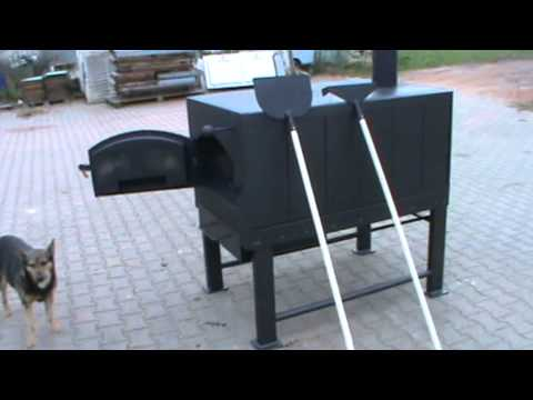 holzbackofen db 85 60 mit einigen zus tzen ofenbau adersetdt de youtube. Black Bedroom Furniture Sets. Home Design Ideas