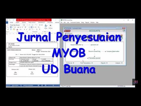 jurnal-penyesuaian-ukk-myob-ud-buana
