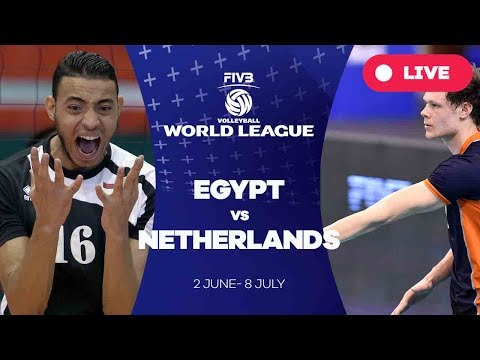 Egypt v Netherlands - Group 2: 2017 FIVB Volleyball World League
