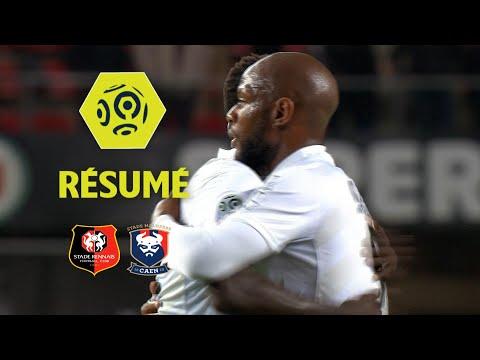 Stade Rennais FC - SM Caen (0-1)  - Résumé - (SRFC - SMC) / 2017-18