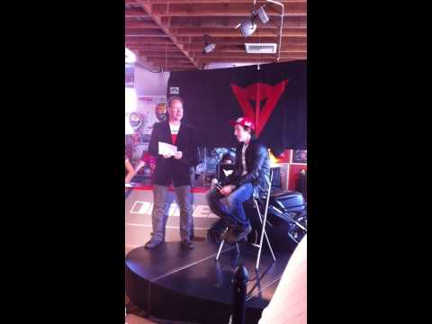 Nicky Hayden interview at Dainese D-Store Costa Mesa 2011