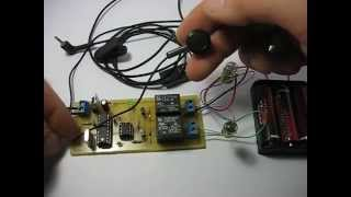 GSM remote control (2 channels)