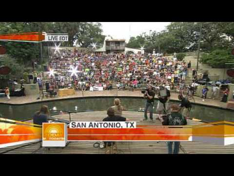 Lee Ann Womack - San Antonio Rose Live On Today Show