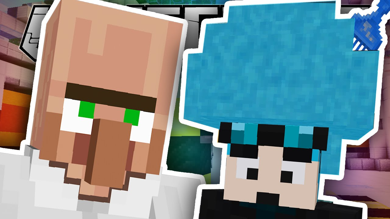 Minecraft Turning Dantdm S Hair Blue Custom Mod Adventure