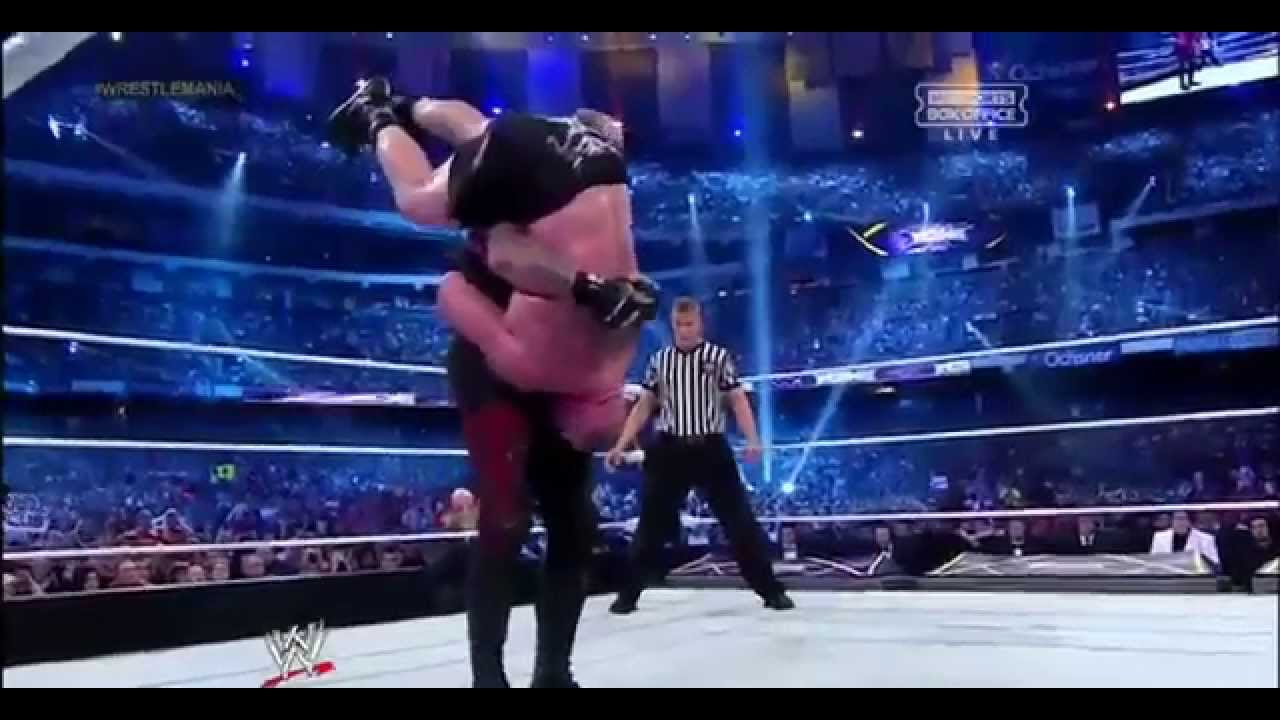 The undertaker vs the twin towers clip - 2 6