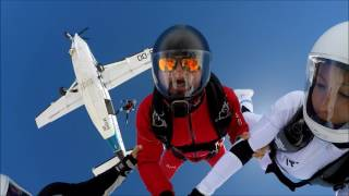 Skydive Spa and Cerfontaine Freefly Jumps