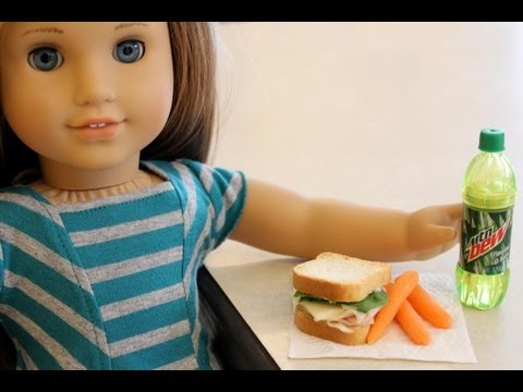 How to Make Edible Doll Food  Doll Crafts