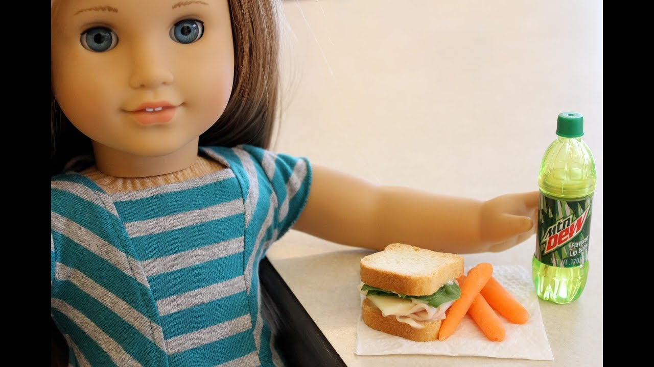 How to make food for dolls