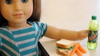 How to Make Edible Doll Food