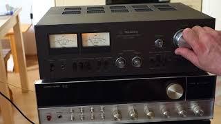 Technics SU 7700K&Saba Acoustic monitor 140