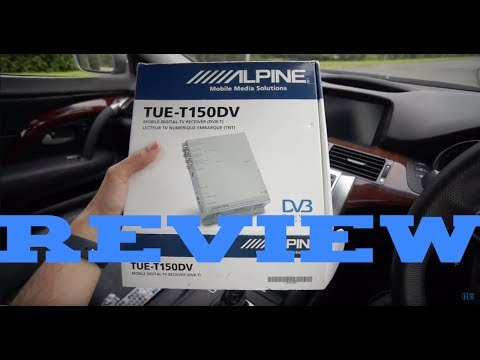 Alpine TUE-T150DV Car Freeview In-Depth Review