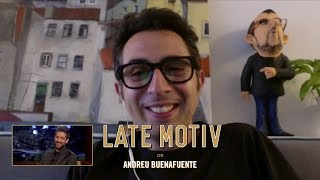 LATE MOTIV - Berto Romero... sin consultorio | #LateMotiv214