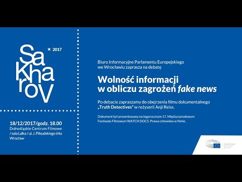 Nagroda im. Sacharowa na rzecz wolności myśli - relacja z debaty (2017)