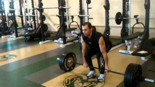 Egyptian Sprinter Amr Seoud's Strength And Power Training