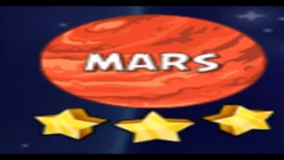 Angry Birds Space Solar System Mars 10-5
