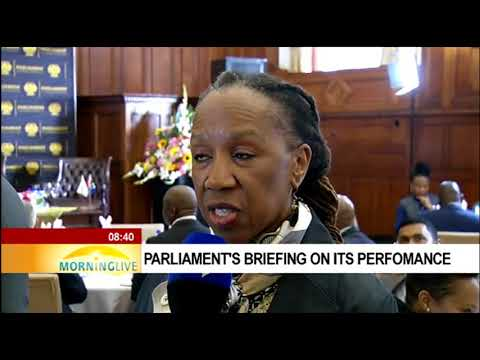 Parliament's briefing on its performance - Baby Tyawa