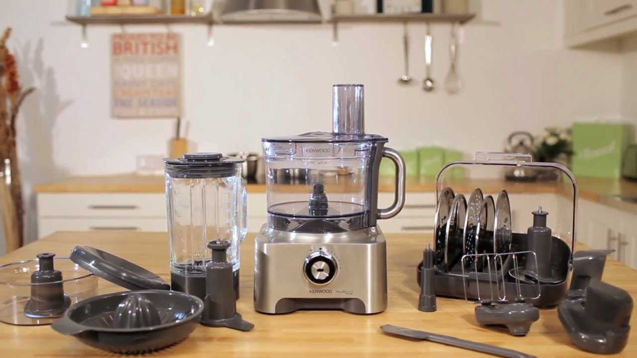 Kenwood MultiPRO Sense Food Processor - YouTube