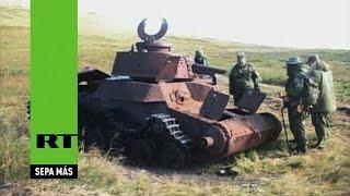 Hallan restos de guerreros soviéticos perdidos