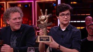 Dennis van Aarssen grote winnaar The Voice of Holland! - RTL LATE NIGHT MET TWAN HUYS