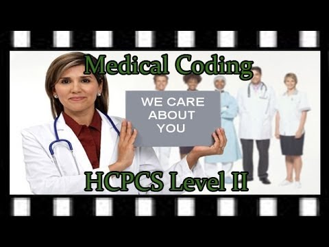 Medical Coding HCPCS Level II Codes