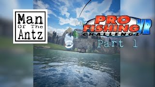 Pro Fishing Challenge VR with Oculus Touch - Quick look and tutorial run through