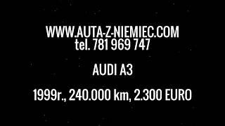 Auta z Niemiec #7/04/2016: Audi A3 /Deggendorf/