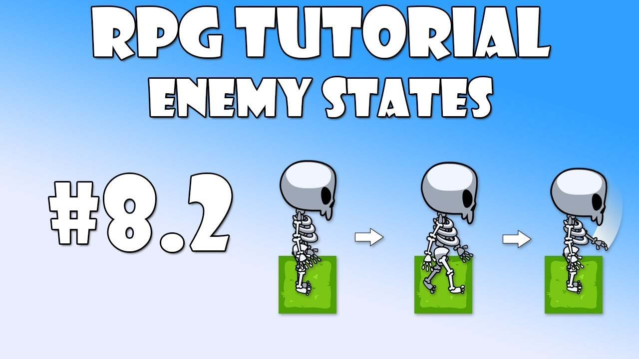 #8 2 Unity RPG Tutorial - Enemy states by inScope Studios