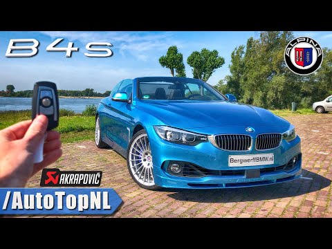 BMW ALPINA B4 S Convertible REVIEW POV Test Drive By AutoTopNL