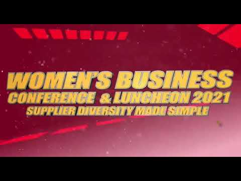 #LBA Woman's Business Conference & Luncheon 2021- Supplier Diversity Made Simple