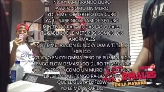 Nicky Jam Improvisando