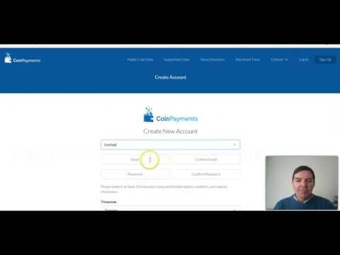 Coinpayments how to open a Coinpayments.net bitcoin account and bitcoin wallet