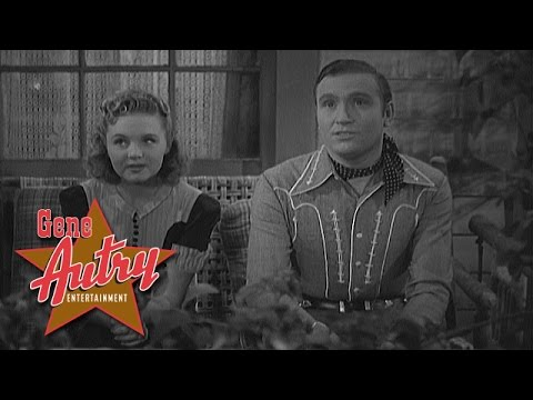 Gene Autry and June Storey - Moonlight on the Ranch House (Home on the Prairie 1939)