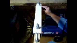 Simple Infeed Table For Compound Miter Saw