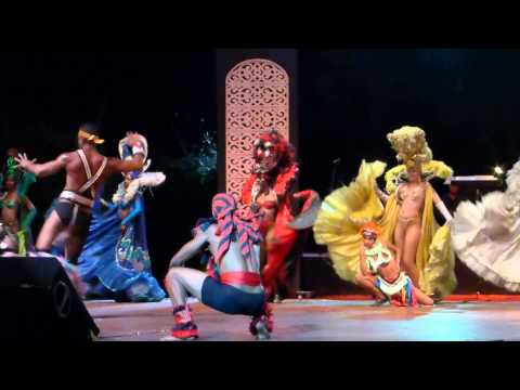 "Spectacle Cabaret "" LE TROPICANA"" Santiago de Cuba"