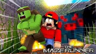 Roblox - ROPO IS LOST INSIDE THE MAZE WITH THE MONSTERS.... NAKED!