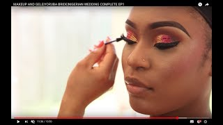 MAKEUP AND GELE TRANSFORMATION POWER OF MAKEUP /NIGERIAN WEDDING COMPLETE