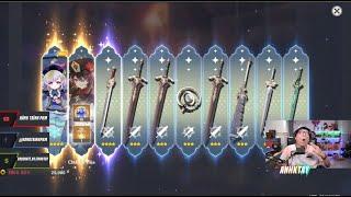 May mắn của người chơi hệ newbie, Homa, Hu Tao bao không lệch rate, không phải video Genshin Impact