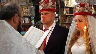 Венчание в облаках.Церковь Воскресения Христова .Форос