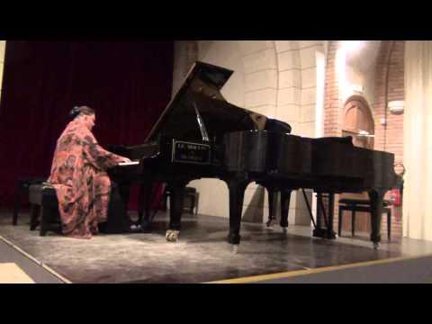 "Oxana Yablonskaya 'Gretchen am Spinnrade' Schubert-Liszt Festival 'Harmonies de l'Est"" 2012"