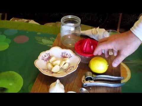 Лимон с чесноком: барьер против простуды и гриппа