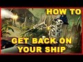 Sea of Thieves: How to Get Back on Your Ship (Guide)