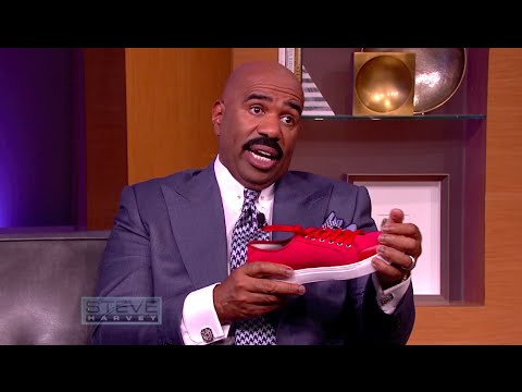 Fashionable shoes that feed the hungry  STEVE HARVEY