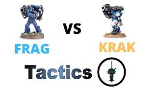 Frag Missile vs Krak Missile: Maths Quick Tip - Missile Launcher Tactics + Strategy - Space Marines