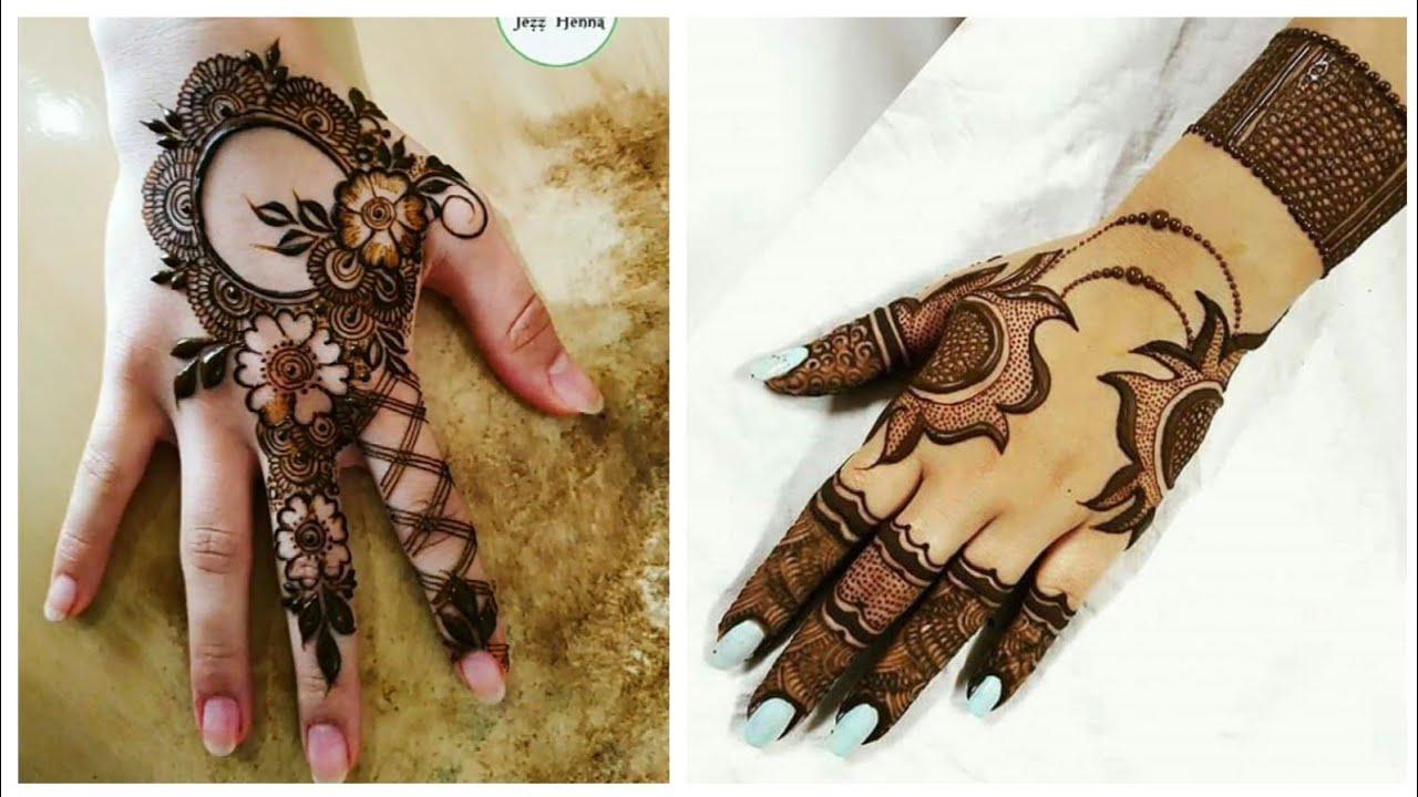 arabic mehndi designs 2020 new style simple